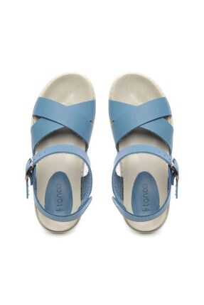 Kemal Tanca Kadın Derı Sandalet Sandalet 539 1308 Bn Sndlt Y20 3