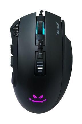 Rush Bearcat Rm88 10000 Dpı Rgb 9d Pro Mmo Gamıng Oyuncu Mouse 0