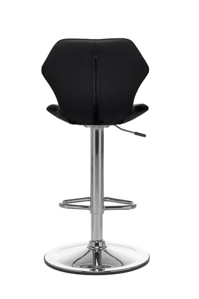 Seduna Kuga Bar Taburesi Siyah   Bar Sandalyesi 3