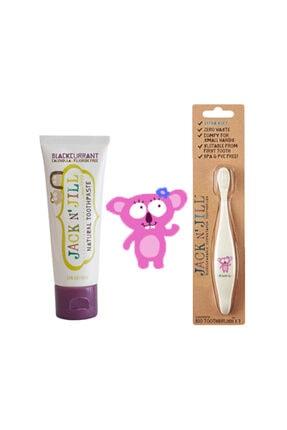 Jack N'jill Diş Macunu Diş Fırçası Set (fırça-frenüzümü Aromalı Macun) Takım203