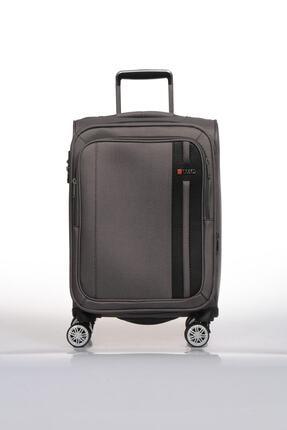 1108 4 Tekerlekli Kabin Boy Valiz Gri fossıl1108kabın