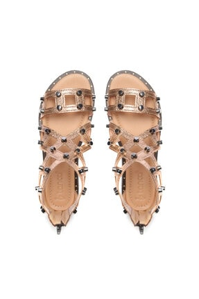 Kemal Tanca Kadın Derı Sandalet Sandalet 169 51170 Bn Sndlt 3