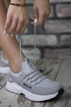Riccon Erkek Gri Bağçıklı Sneaker 0012072 2