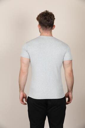 ALEXANDERGARDI Düğmeli Bisiklet Yaka T-shirt (E19-08109) 2
