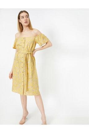 Koton Dügme Detayli Elbise 1
