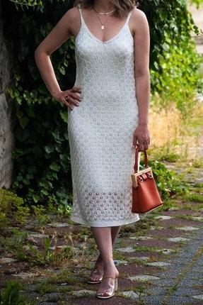 Askılı Triko Elbise triko elbise
