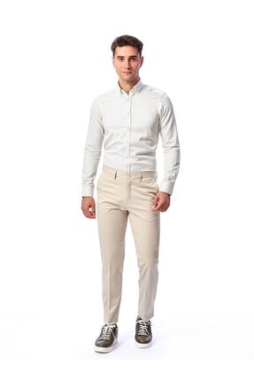 Dufy Taş Büyük Beden Düz Erkek Pantolon - Battal 1