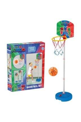 Dede Oyuncak Pj Maskeliler 2 Boy Ayarlanabilir Ayaklı Basket Potası 0