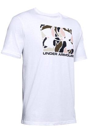 Under Armour Erkek Spor T-Shirt - Ua Camo Boxed Logo Ss - 1351616-101 0