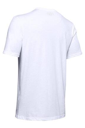 Under Armour Erkek Spor T-Shirt - Ua Camo Boxed Logo Ss - 1351616-101 1