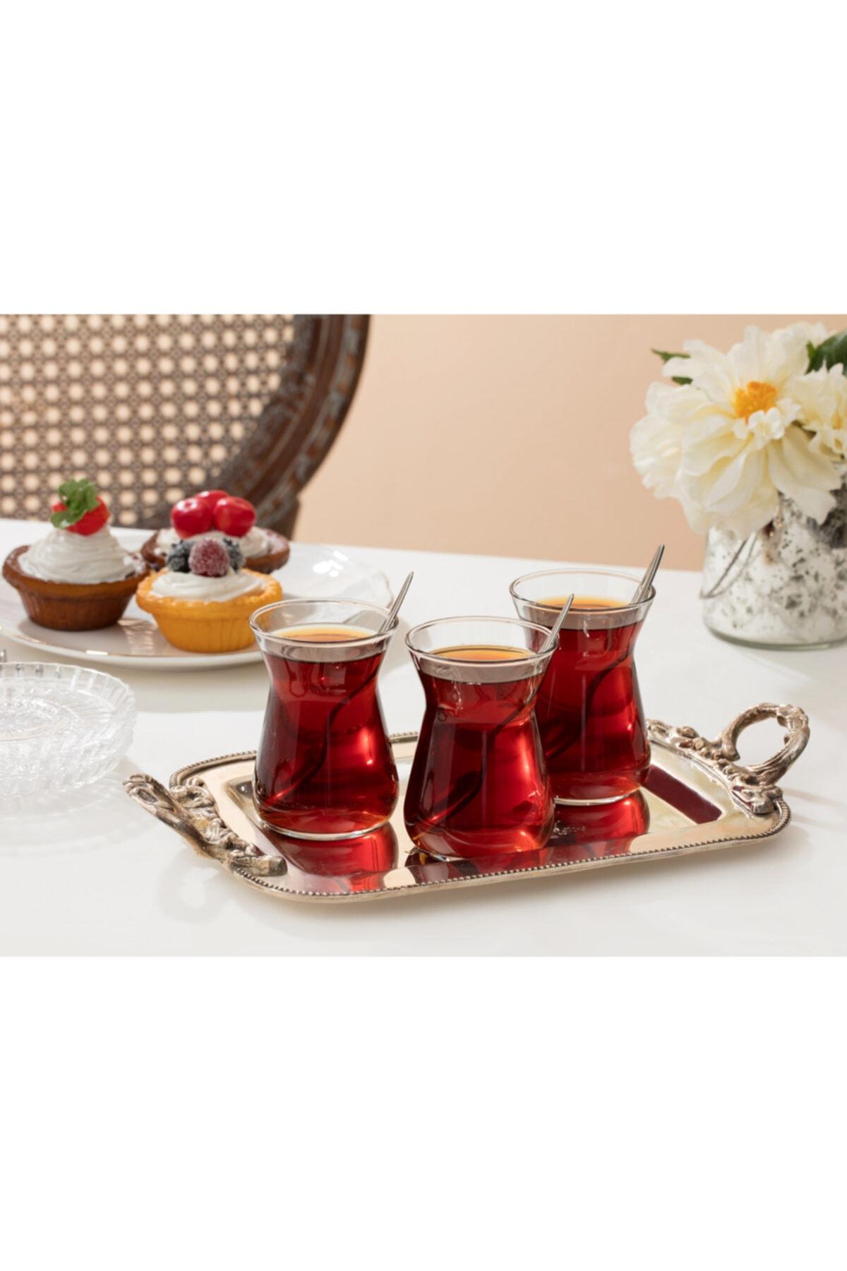 Francessa 6'lı Çay Bardağı Seti 132 ml