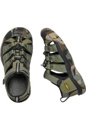 Keen Newport H2 Genç Sandalet Yeşil 3
