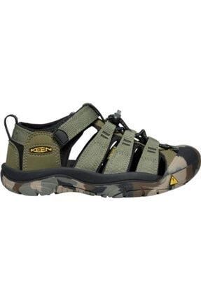 Keen Newport H2 Genç Sandalet Yeşil 4