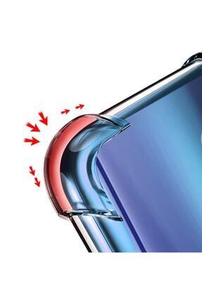 Telefon Aksesuarları Reno 2z Kılıf Köşeleri Sert Silikon Shockpro Şeffaf 3