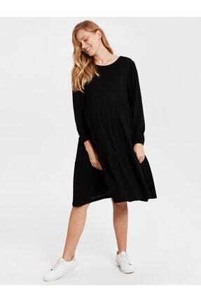 LC Waikiki Kadın Siyah  Elbise 1
