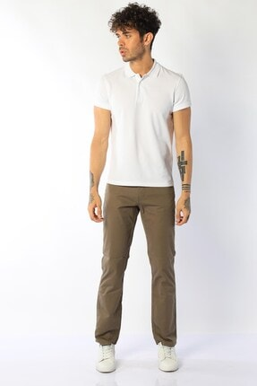 Erkek Yüksek Bel Kot Pantolon Vegas TX0CB886F64623