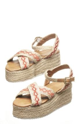 Delos Etnik Hasır Sandalet 2