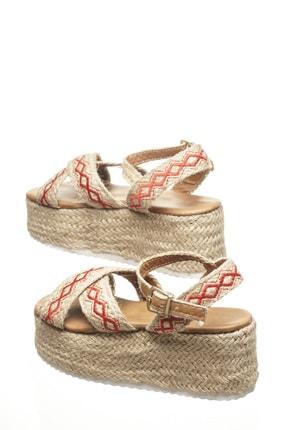 Delos Etnik Hasır Sandalet 3