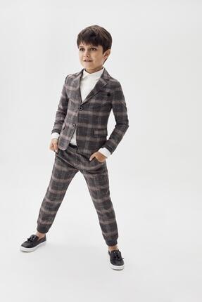Erkek Çocuk Ekose Pantolon 20fw0nb3225 resmi