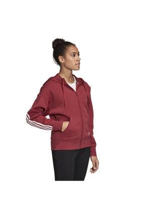 adidas W 3s Dk Hoodie Kadın Kırmızı Günlük Stil Ceket Gc6950 3