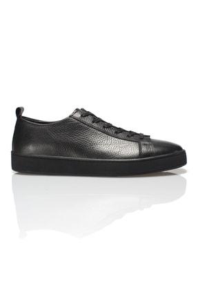 Alba Siyah Hakiki Deri Erkek Sneaker 0