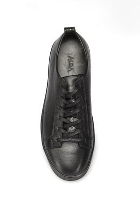 Alba Siyah Hakiki Deri Erkek Sneaker 3