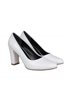 PUNTO 462067 Beyaz Rugan Kadın Stiletto 4