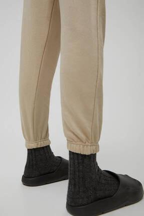 Pull & Bear Kadın Camel Pantolon 1