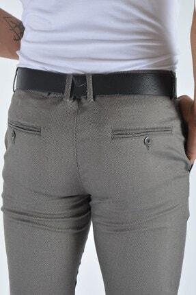 Terapi Men Erkek Slim Fit Keten Pantolon 20y-2200336 Vizon 3