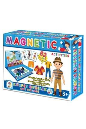 moniev Manyetik Erkek Çocuk Kıyafet Giydirme Oyun Seti 52 Parça 0