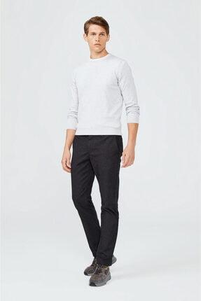 Avva Erkek Antrasit Yandan Cepli Flanel Slim Fit Pantolon A02y3057 4