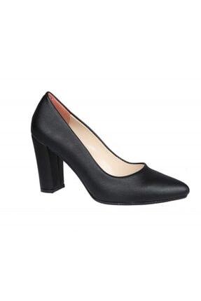 PUNTO 462003 Siyah Rugan Kadın Stiletto 1