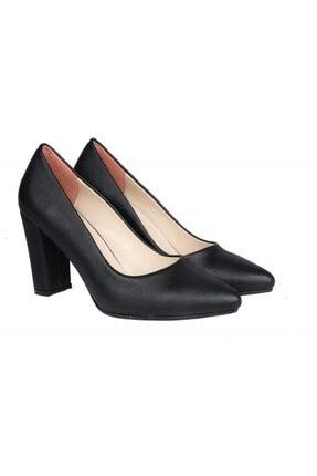 PUNTO 462003 Siyah Rugan Kadın Stiletto 4