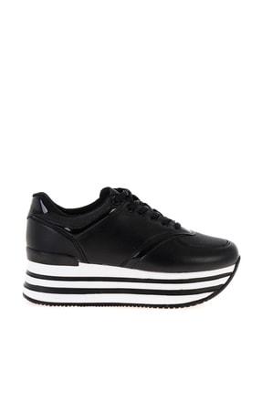 Bambi Siyah Kadın Sneaker L0550121709 1