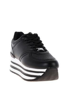 Bambi Siyah Kadın Sneaker L0550121709 2