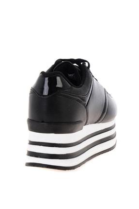 Bambi Siyah Kadın Sneaker L0550121709 3