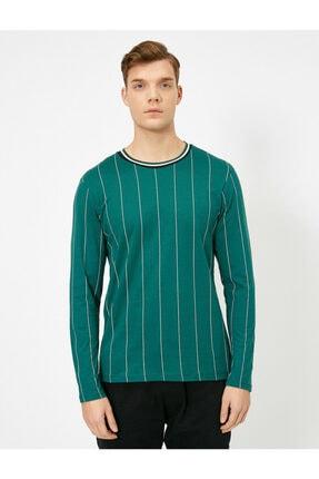 Koton Erkek Çizgili T-shirt 2