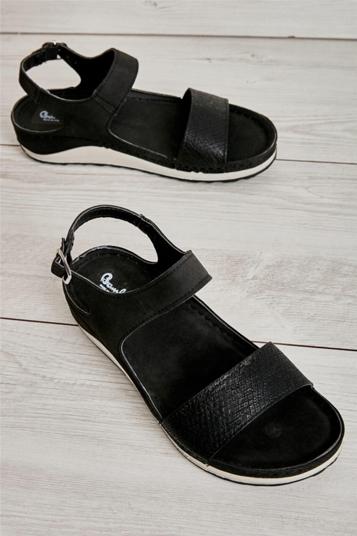 Siyah Kadın Sandalet L0785210409
