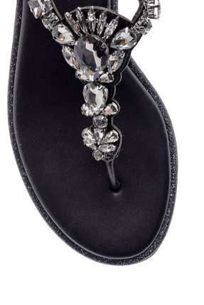 Derimod Kadın Taşlı Sandalet 4