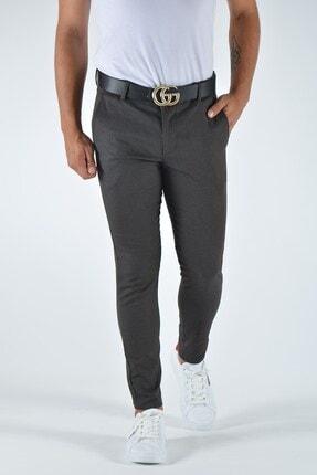 Terapi Men Erkek Slim Fit Keten Pantolon 20y-2200337 Antrasit 2