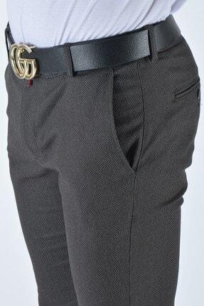 Terapi Men Erkek Slim Fit Keten Pantolon 20y-2200337 Antrasit 3