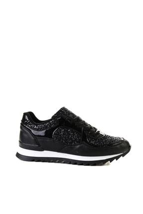 Bambi Siyah Kadın Sneaker L06030561 1