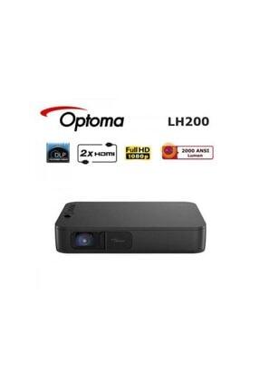 OPTOMA LH200 2000 ANSI lümen 1920x1080 Full HD DLP LED Projeksiyon Cihazı 3