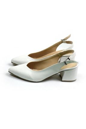 Tenero Shoes Tenero Ayakkabı Beyaz Topuklu Ayakkabı 1