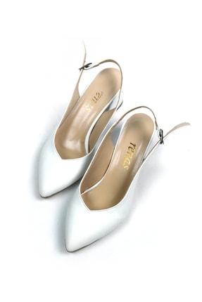Tenero Shoes Tenero Ayakkabı Beyaz Topuklu Ayakkabı 2