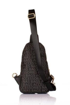 Derima Çanta Nas Polo Siyah Kadın Omuz Çantası 2