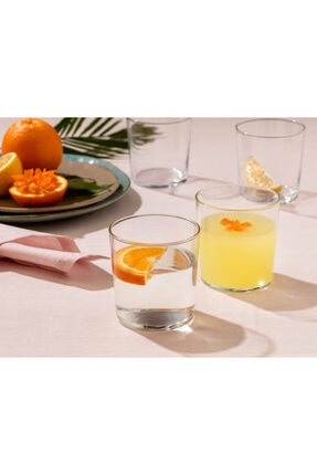 Madame Coco Pierretta 4'lü Su Bardağı Seti 380 ml 0