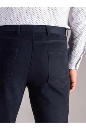 Dufy K.lacivert Düz Erkek Pantolon - Regular Fıt 3