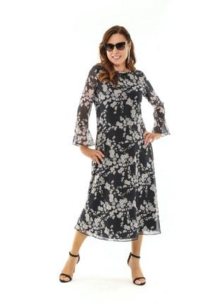 Picture of Hensley Büyük Beden Elbise