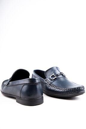 Milano Brava Hakiki Deri Günlük Loafer Erkek Ayakkabı Hsm904 Lacivert 3